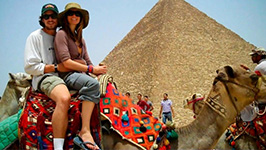 Horse or Camel Ride at the Pyramids of Giza Private Tour