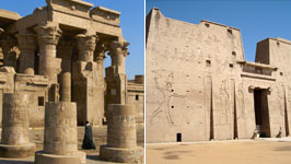 Kom Ombo Temple Tour & Edfu from Aswan