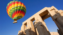 Hot-Air Balloon Ride in Luxor