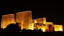 Philae Temple Sound & Light Show Tour from Aswan