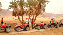 Safari Excursions Quad Runner in Sharm